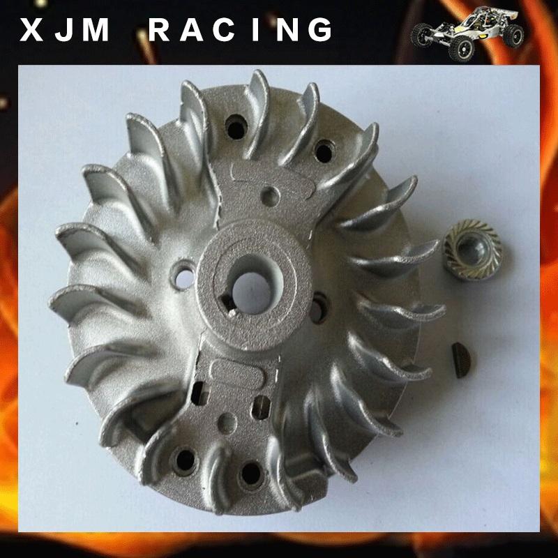 Flywheel Magneto fits 23cc 26cc 29cc 30.5cc CY Fuelie Engine 1/5 HPI BAJA 5B 5T SC KM Rovan rc car toy parts