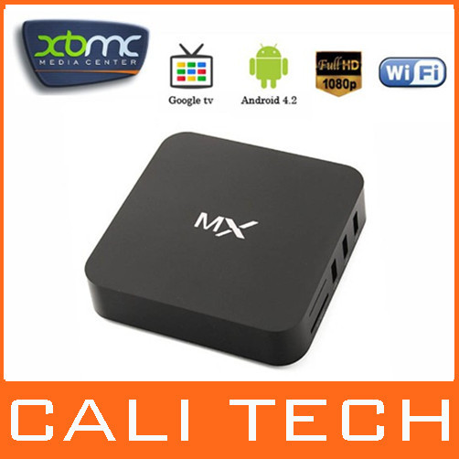 Amlogic 8726 MX Dual Core XBMC Full Download Android 4.2 TV Box Midnight MX MX2 1G/8G WiFi USB RJ-45 AV HDMI G box Media Player(China (Mainland))