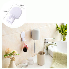 5 pieces.Lot Bathroom Kitchen Robe Hanging Hooks Brush Cup Adhesive Wall Hook Hanger Household Accessories(China (Mainland))