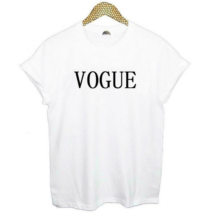 Vogue t shirt foreign trade speed sell tong lady t shirt for Where can i sell t shirts