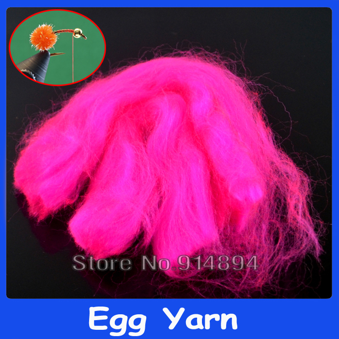 5 Packs Rose Red Color Egg Fly Making Egg Yarn Trouts Fly Fishing FliesTying Material Fabric China Retailer on Line(China (Mainland))