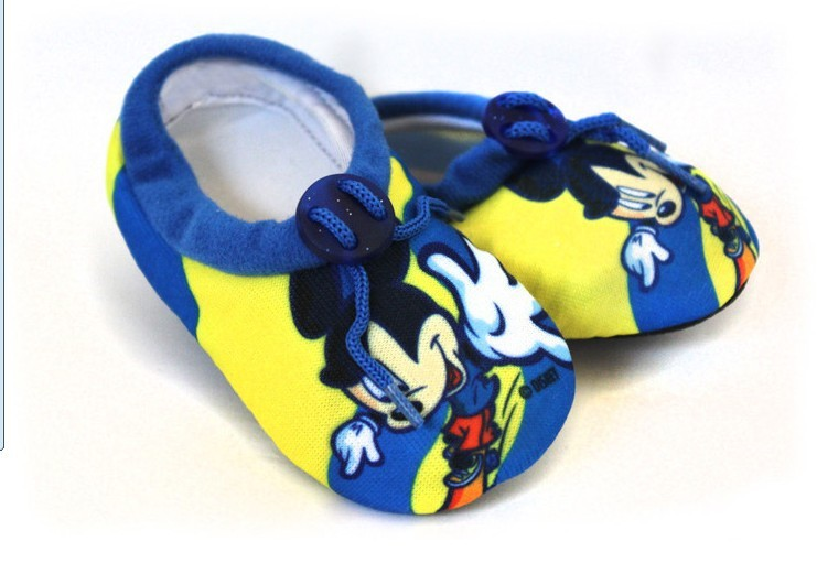 Wholesale 10pairs chlidren mouse boy Cartoon soft-soled shoes/sandals/indoor household non-slip shoes and socks<br><br>Aliexpress