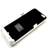 5800 mah White External Rechargeable Battery Power Case For iphone 6 5.5 Plus Backup Battery Bank Charger Free Shipping