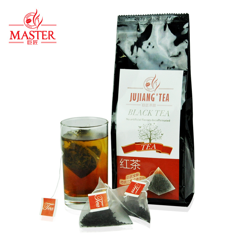 JUJIANG master transparent selection of Earl Grey tea bags triangle perspective tea bubble tea 3gX30