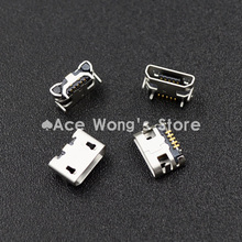 10pcs Micro USB 5P,5-pin Micro USB Jack,5Pins Micro USB Connector for Tail Charging mobile phone(China (Mainland))
