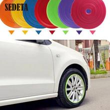 10 Color 8M/ Roll 2015 New Styling IPA Rimblades Car Vehicle Color Wheel Rims Protector Tire Guard Line Rubber Moulding Trim(China (Mainland))