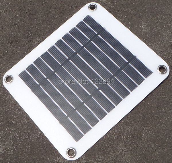 Portable Solar Charger 5W Solar Panel Chager USB Output 5V Power Supply For Outdoor Activities High Efficiency Free Shipping(China (Mainland))