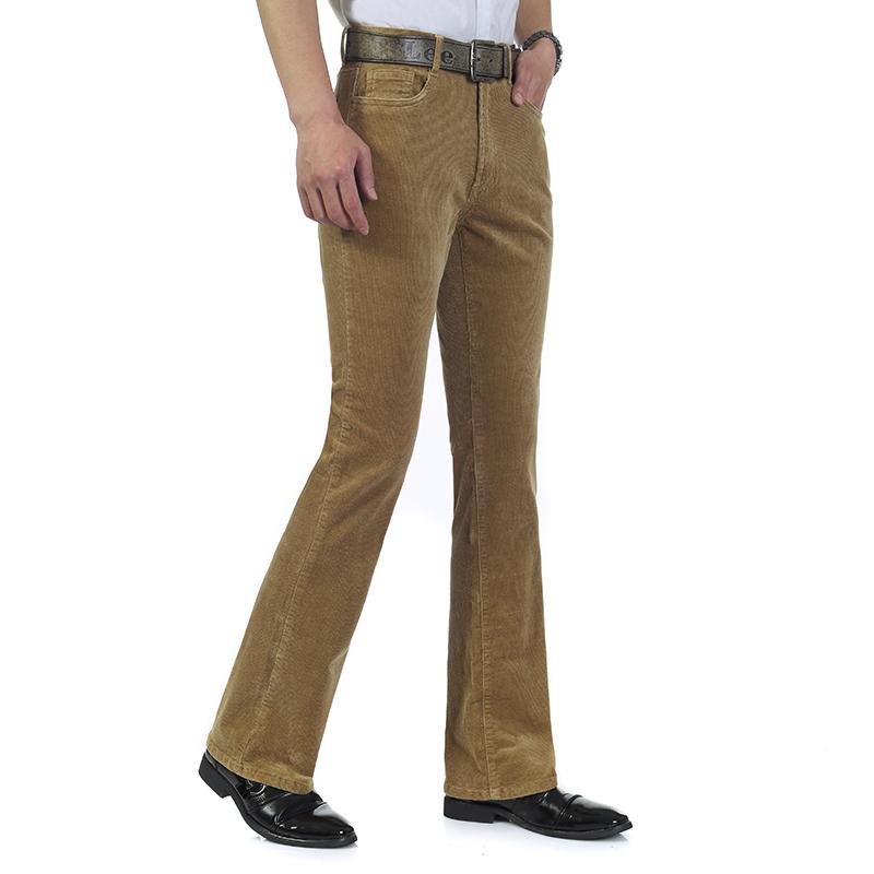 mens corduroy pants bootcut - Pi Pants
