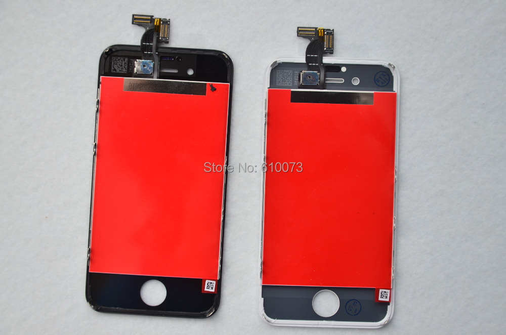 Black White LCD Touch Screen Digitizer Glass Assembly for iPhone 4S 4G 4 Display gsm AAA Quality