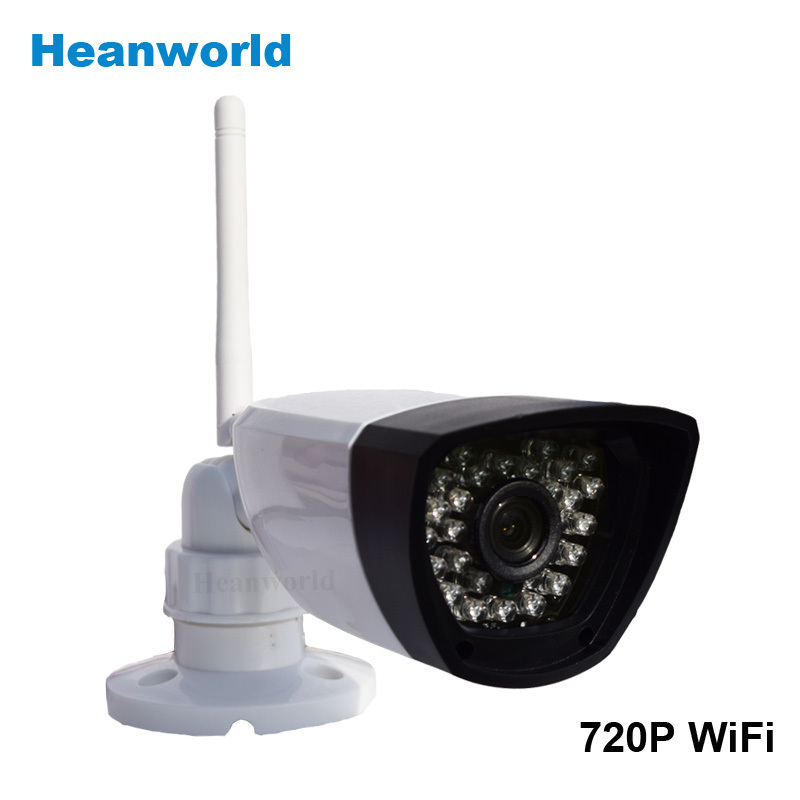 Megapixel 720P Wireless Wired IP Camera Wifi IR Night Vision ONVIF Home Surveillance Video Security Camera CCTV Network IP Cam(China (Mainland))