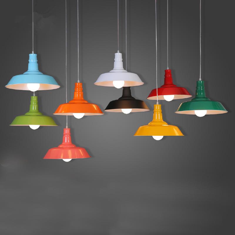 Retro loft dining room creative vintage pendant lamp - Salle a manger cocooning ...
