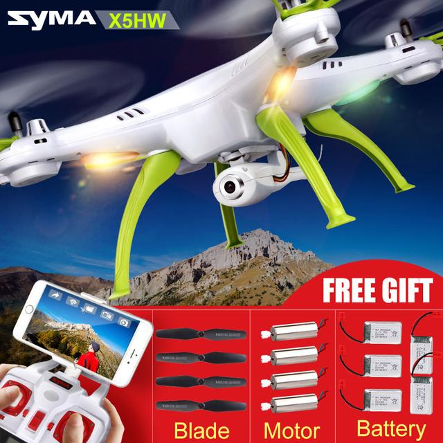 Оригинал Сыма X5C X5HC с HD камерой 2 мегапикселя ,X5HW (X5SW Обновление) FPV 2.4G 4CH RC WIFI Камера Вертолет дрон, Камеры RC квадрокоптер с камерой