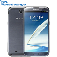 Original Unlocked Samsung note 2 II N7100 Quad Core Phone Camera 2GB RAM 32G ROM GSM 3G 5.5''Touch 1280x800 Smart Phone