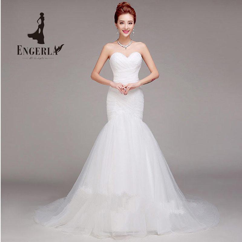Mermaid Bridal Gown Sexy Court Train Wedding Dress Sweetheart Vestido De Noiva Real Photos(China (Mainland))
