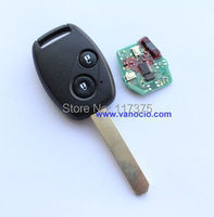 for Honda Odyssey , Fit , CRV ( 2008 after) 2 button remote key 433mhz with electronic ID46 chip