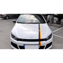 Buy 30xGermany Flag Red Yellow Black Car Sticker Whole Body Sticker VW Golf Scissor Audi A1 A3 BMW 118 116 Hyundai Veloster for $24.29 in AliExpress store