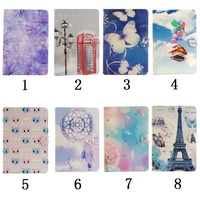 Tablet Case for Samsung Galaxy Tab S2 9.7 T815 T810 Cute Kids Case PU Leather Wallet Case Flip Cover Soft TPU Back Shell inside