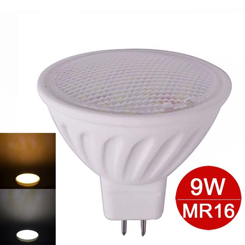Dimmable LED Ceramic Spotlight 9W MR16 SMD5730 12V led bulb lamp light lightting warm/cold white - Top Tec Co.,Ltd store