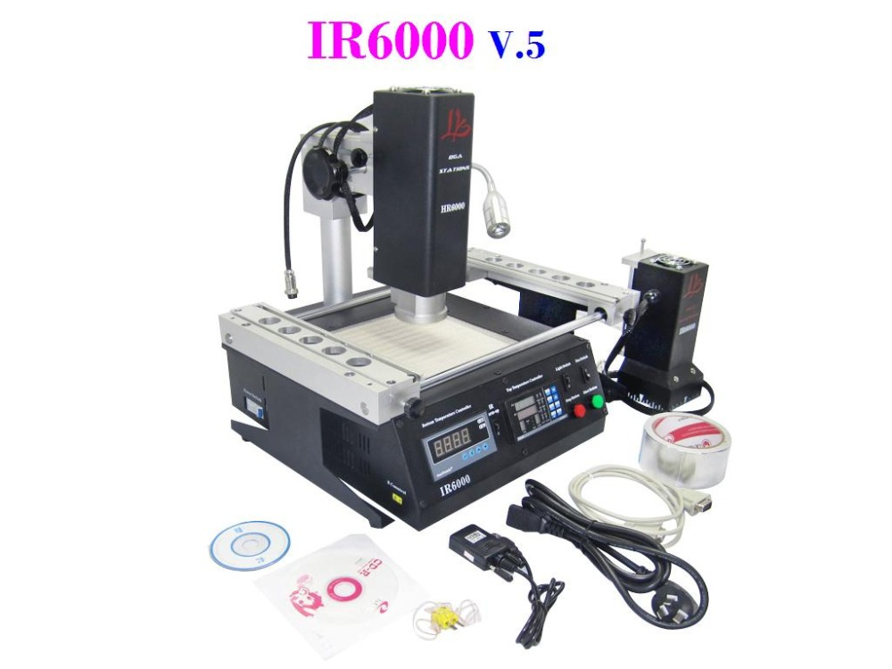 The Lowest Cost Chinese Welding Machine With HR+IR 2 in 1 Heaters LY IR6000 V.5 for BGA rework station repair(China (Mainland))