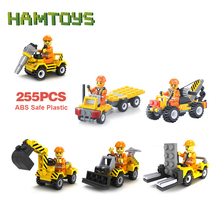 2016 New 1 pcs/ set City Construction Building Blocks Brick Toys for Boys Girls Children Kids Blocks Compatible with Lego #BLE(China (Mainland))