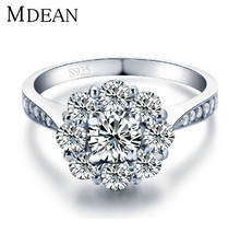 Jewelry 925 Silver Ring CZ Diamond Ring Women Wedding Bague Exquisite Fashion Jewelry Accessories Bijouterie JR152
