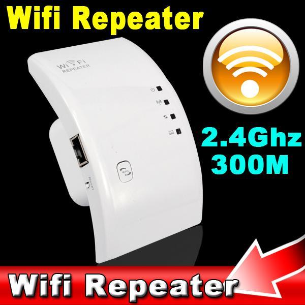 Wifi Repeater 802.11N/B/G Network Router Expander W-ifi Antenna Wi fi Roteador Signal Amplifier Repetidor US/EU Plug(China (Mainland))