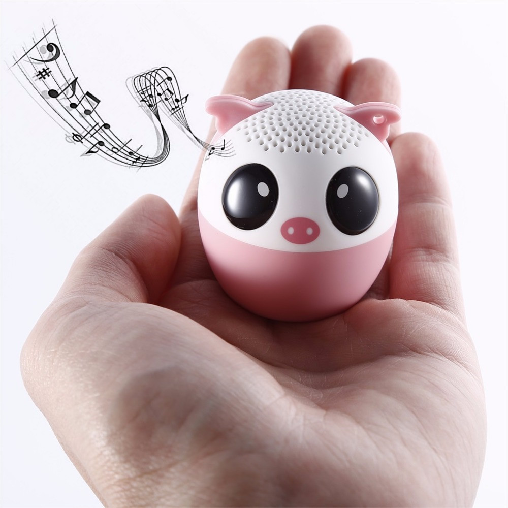 Bluetooth Wireless Speaker Cute Animal panda dog Sound Speaker Portable Clear Voice Audio Player with TF Card USB for Mobile PC(China (Mainland))