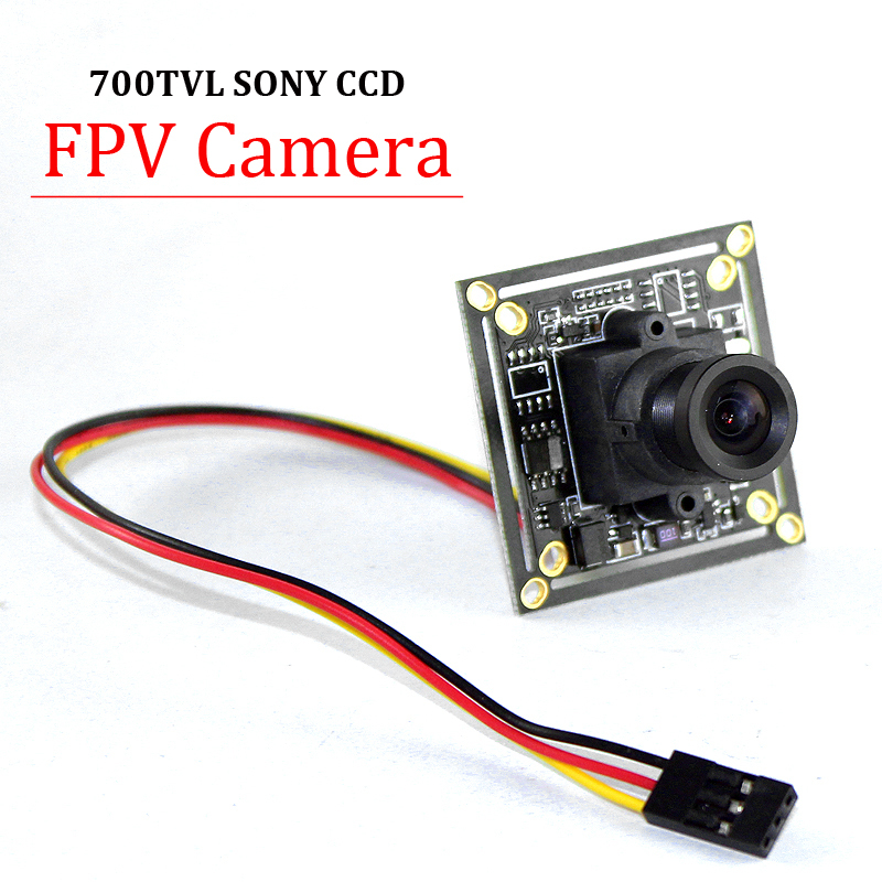 "HD 700TVL 1/3"" SONY CCD PAL or NTSC 3.6mm Mini CCD FPV Camera for RC Quadcopter Drone FPV Photography(China (Mainland))"