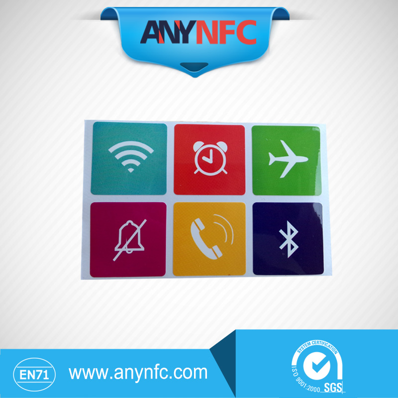 6 pcs Universal Smart NFC Tags Sticker Ntag203 for Sony Samsung Note3 Galaxy S4 Lumia920 Nexus4/10 BlackBerry HTC<br><br>Aliexpress