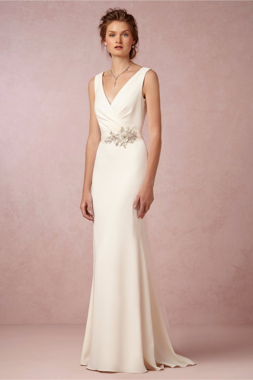 Trumpet Mermaid Cowl Neck Sweep Train Jersey Wedding Dress g cowl neck wedding dress Home Wedding Dresses Loading zoom