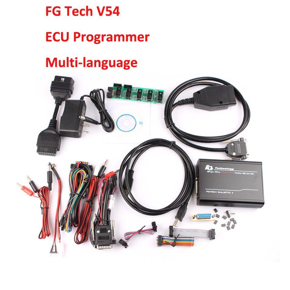 High Quality V54 FGTech Galletto 4 Master Unlock Version BDM-TriCore-OBD Fg tech Galletto 4 ECU Chip Tuning For Car/Tuck/Motor(China (Mainland))