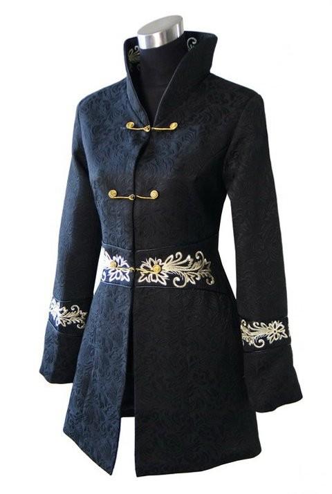 Fashion Jacket Chinese Tradition Style Cotton Women Long ...