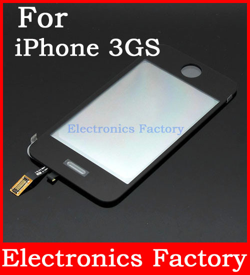 NEW Lcd Display Touch Screen For Apple iPhone 3G 3GS Glass Digitizer Adhesive Panel Replacement Original(China (Mainland))