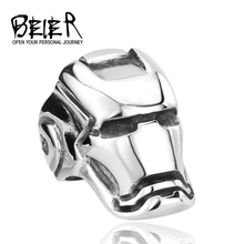 Iron Man ring Factory  Cheap Titanium Unique Stainless Steel Jewelry  Free Shipping Brazil USA TGGTX001