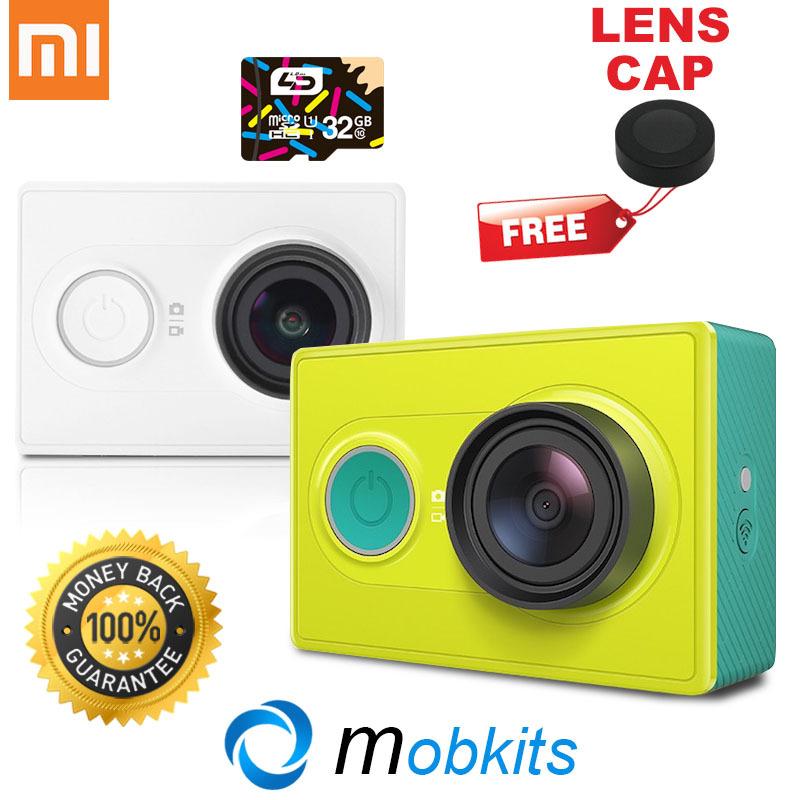 XiaoYi Sport Camera 100% Original 16MP XiaoMi Yi Action Camera Basic and Travel XiaoMi Camera SJ4000 Style XiaoYi Sports Camera(China (Mainland))