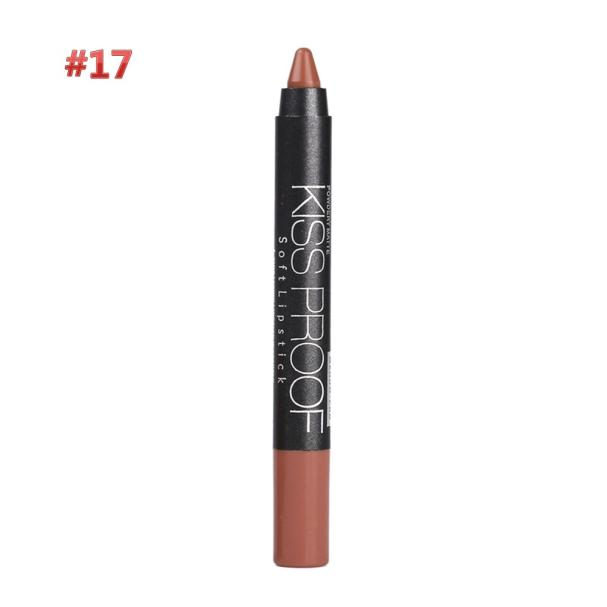 Waterproof Solf Kiss Proof Lipstick Long Lasting Makeup Lip Gloss