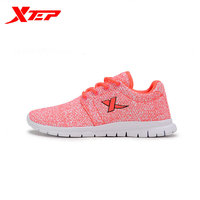 2015 Women Running Shoes Brand Xtep Mesh Breathable Light Weight Running Shoes For Outdoor Traveling Size 35-39 Fast Shipping