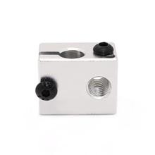 High Quality Aluminium Heat Block for E3D V6 J head 3D Printer RepRap Makerbot MK7 MK8