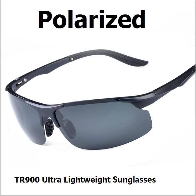 Polaroid Sunglasses Men Top Quality Polarized Sport Sun Glasses Ultralight Cycling Glasses UV400 Protection Driving Sun Glasses(China (Mainland))