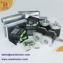 Buy  (Germany Ship & Free Germany )4 Axis Nema 34 Wantai Stepper Motor 1600oz-in,3.5A,CNC Mill Cut Engraving, Laser, 3D Printer for $677.35 in AliExpress store