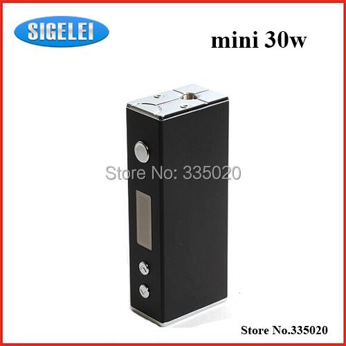 Authentic SIGELEI MINI 30W Mod Aluminum Alloy VV VW Mode Mini Size Box Mod Silver Black