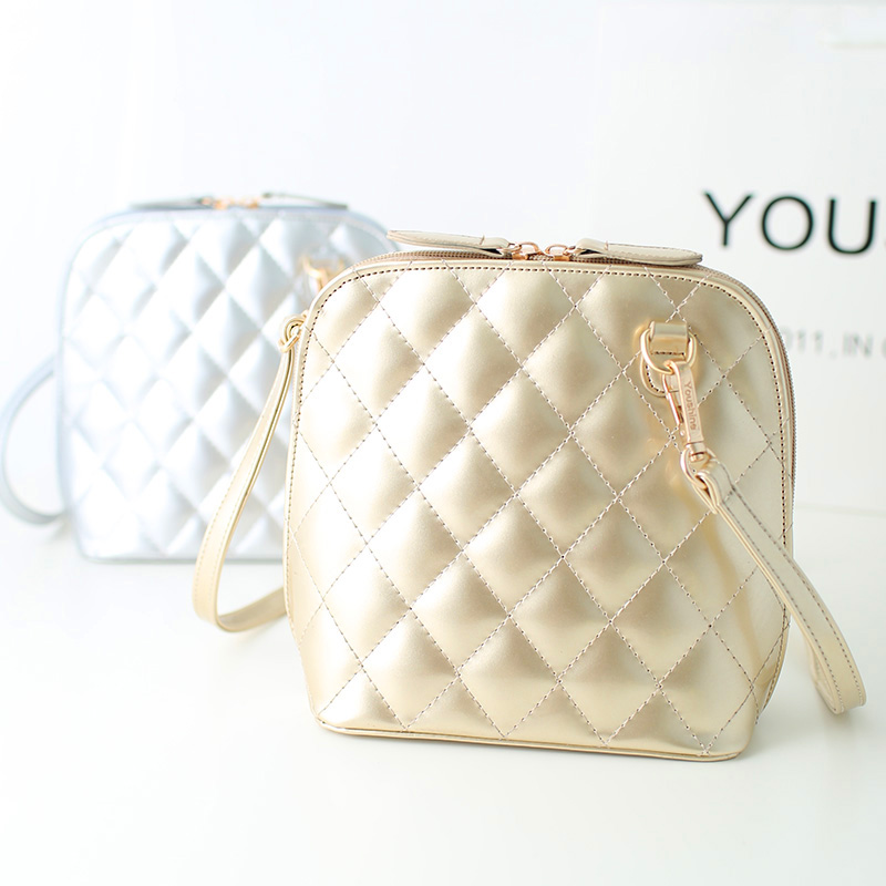 Summer plaid bags 2015 popular women's small cross-body shoulder female mini grid bag girls - fashional accessories store