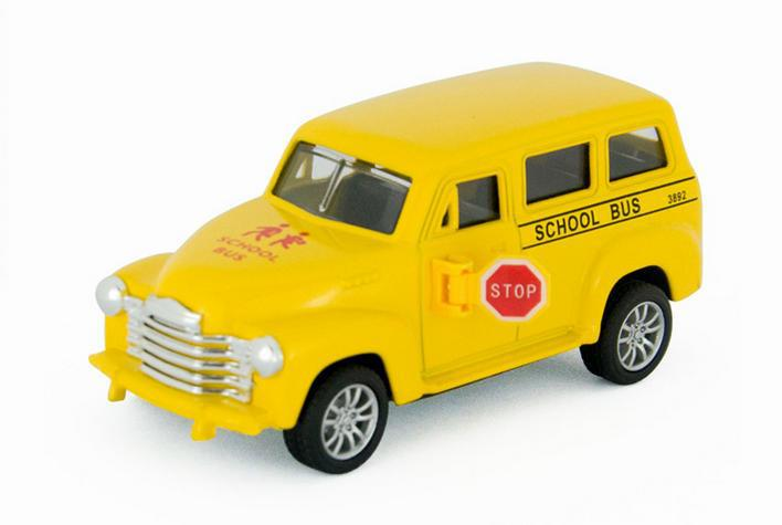 School bus Car model 1:43 Alloy Diecast Yellow Model Car Toy Collection For Boy Children As Gift metal car die cast car models(China (Mainland))