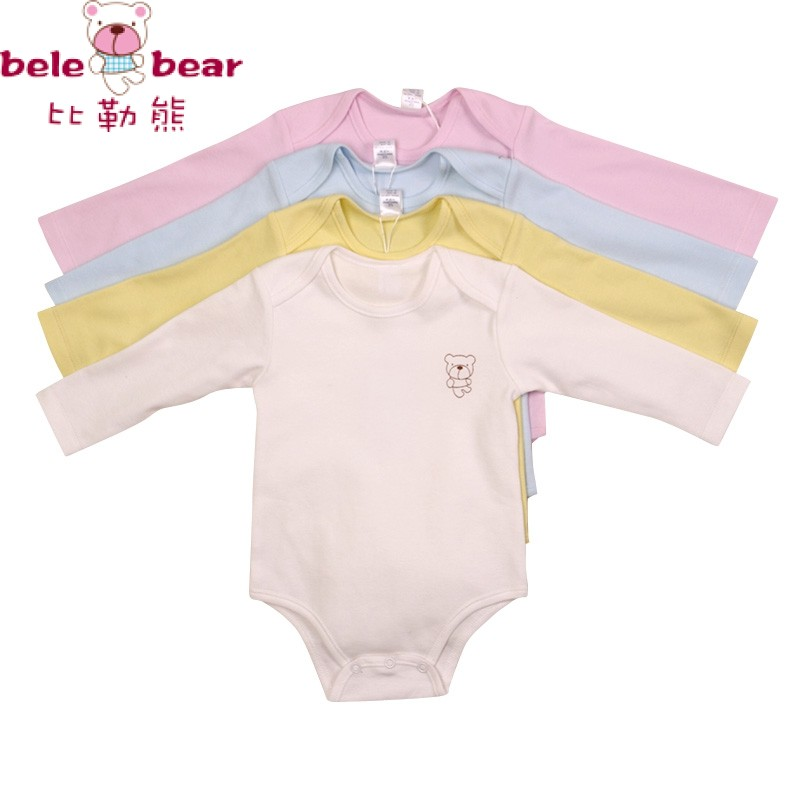 Гаджет  Baby bodysuit romper 100% trigonometric cotton long-sleeve romper newborn underwear male romper autumn and winter 01 None Детские товары