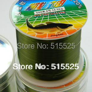 2015 hot sale Free Shipping 500m Monofilament Strong Quality Color Nylon Fishing line