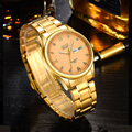 Classic luxury brand BOSCK men watches double calendar steel belt man watches waterproof business quartz gold