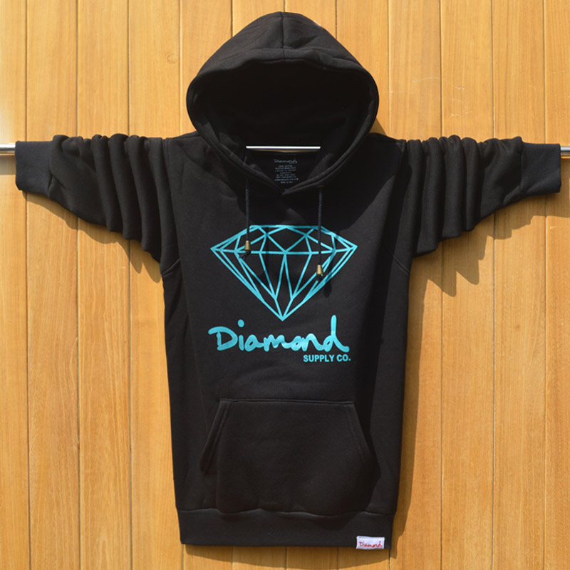 2015 Winter Men's Diamond Supply Co Element Hoodies Men Hip Hop Sweatshirts Man Fleece Hoody Pullover Sportswear Clothing ding(China (Mainland))