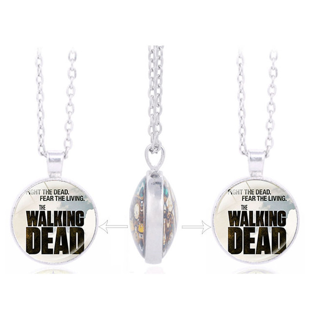 The Walking Dead Daryl Double Sided Pendant Necklace
