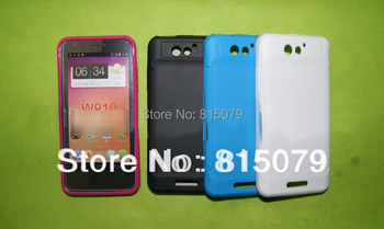 Newest Soft High Quality Haier w910 mobile phone for case protective,blue