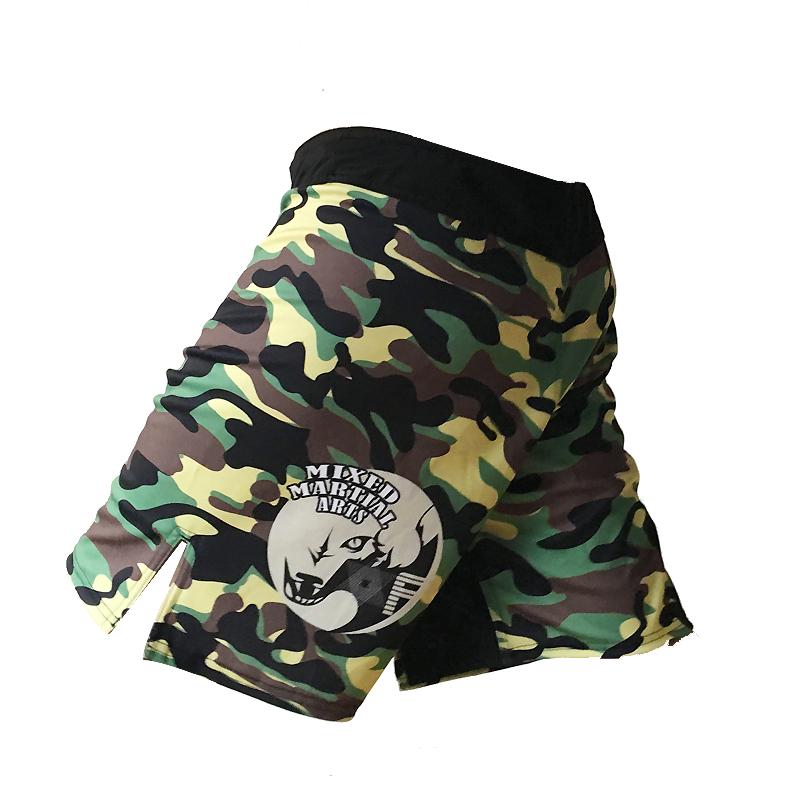 mma shorts boxing pants hayabusa muay thai short bad boy mma trunks muay thai camouflage kickboxing shorts fight wear mma pants(China (Mainland))